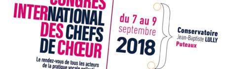 Mômeludies au Congrès International des Chefs de Chœur 2018